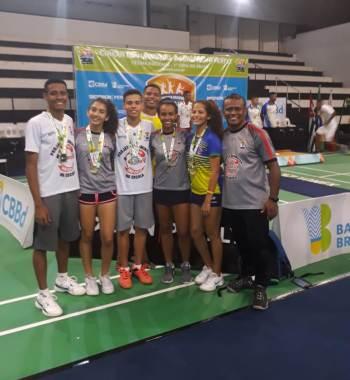projeto, Badminton, parte, atletas, porque, fazem, Centro, realizada, Brasil, estiveram, realiza, Dirceu, Grande, Projeto, Escola, festa, Associação