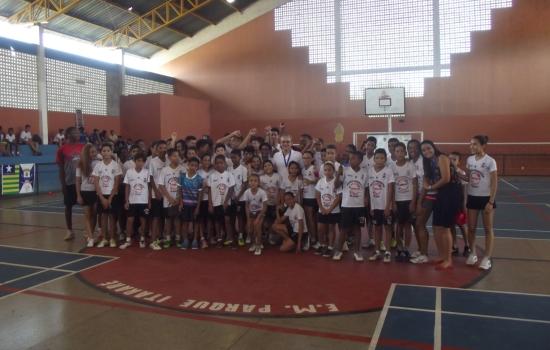 muitas, foram, Associação, Dirceu, conquistas, Grande, núcleo, independente, tivessem, região, desejavam, ideia, nasceu, Badminton, professores, Fundada, alunos