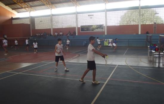 Escola, Badminton, sábado, evento, jogos, abertura, acontecerão, domingo, entra, Campeonato, equipes, inscritos, tivemos, edição, realizado, Neste