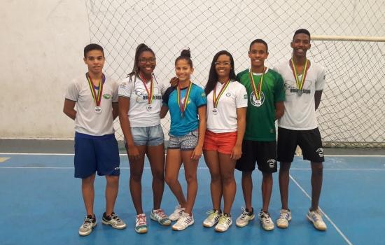 Badminton, Seleção, competição, parceria, federação, Escola, modalidades, FEEPI, seguiu, organizada, abril, sábado, neste, Seletiva, Estadual, Aconteceu, Escolar