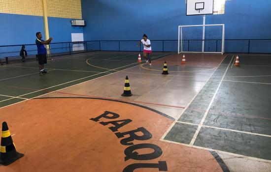 projeto, badminton, grupo, exercício, Fisiologia, Formado, profissionais, física, educação, especialização, curso, portas, abriu, terça-feira, aplicação, estudos, Nesta, escola