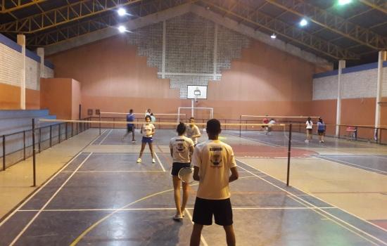 Badminton, segue, Teresina, setor, localizado, Treinamento, esportes, conta, evento, Centro, julho, Nacional, Etapa, quinta-feira, acontecerá, marcada