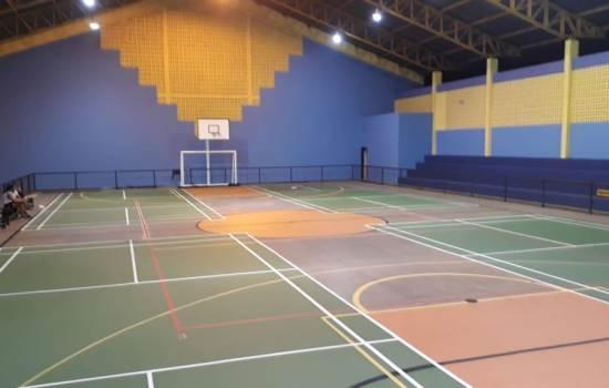 badminton, Escola, escolas, ginásio, receber, atletas, várias, núcleos, convidados, programação, semana, movimentado, teremos, Campeonato, Badminton, novembro